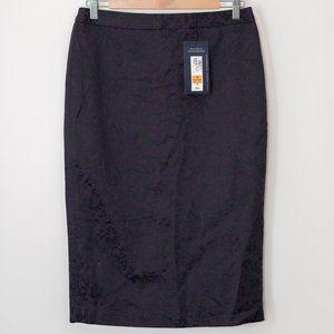 NWT Next Size 10 Purple Lace Motif Pencil Skirt
